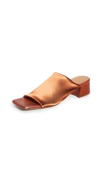 Miista Caterina Slides in brown