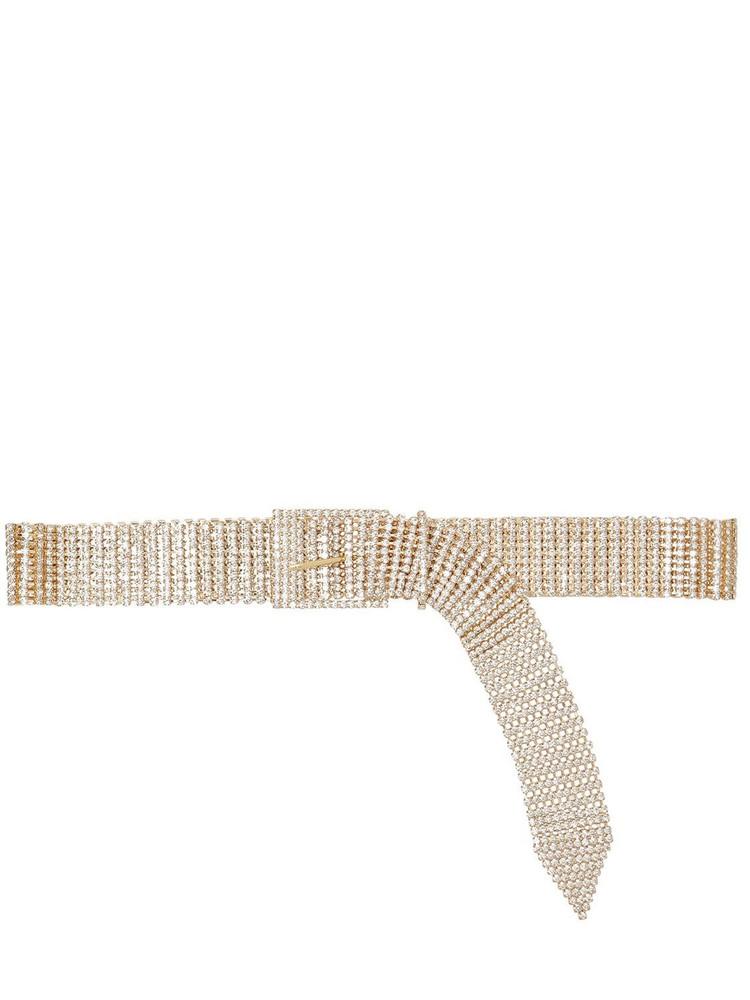 B-LOW THE BELT 40mm Farah Crystal Belt in gold