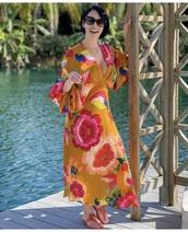 dress,imarayulloa,floral dress,summer outfits