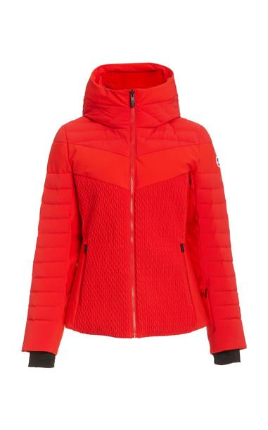 Fusalp Amalienne Down Puffer Jacket in red
