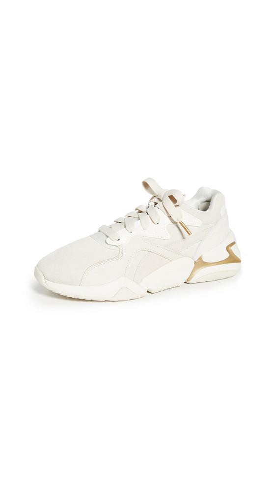PUMA Nova Pastel Grunge Sneakers in white