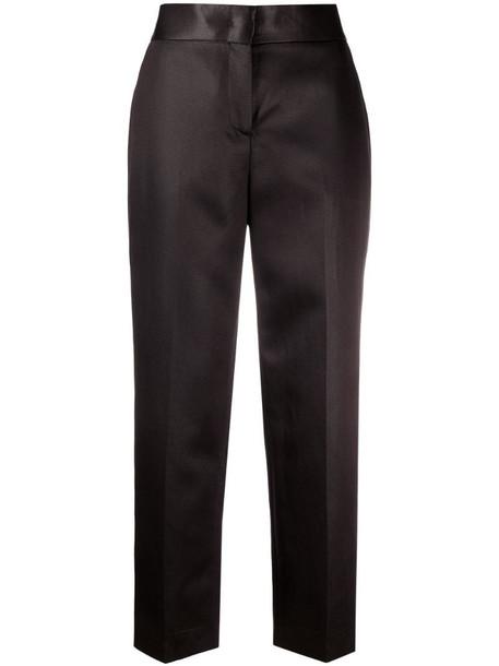 Fabiana Filippi high-rise tailored trousers in black