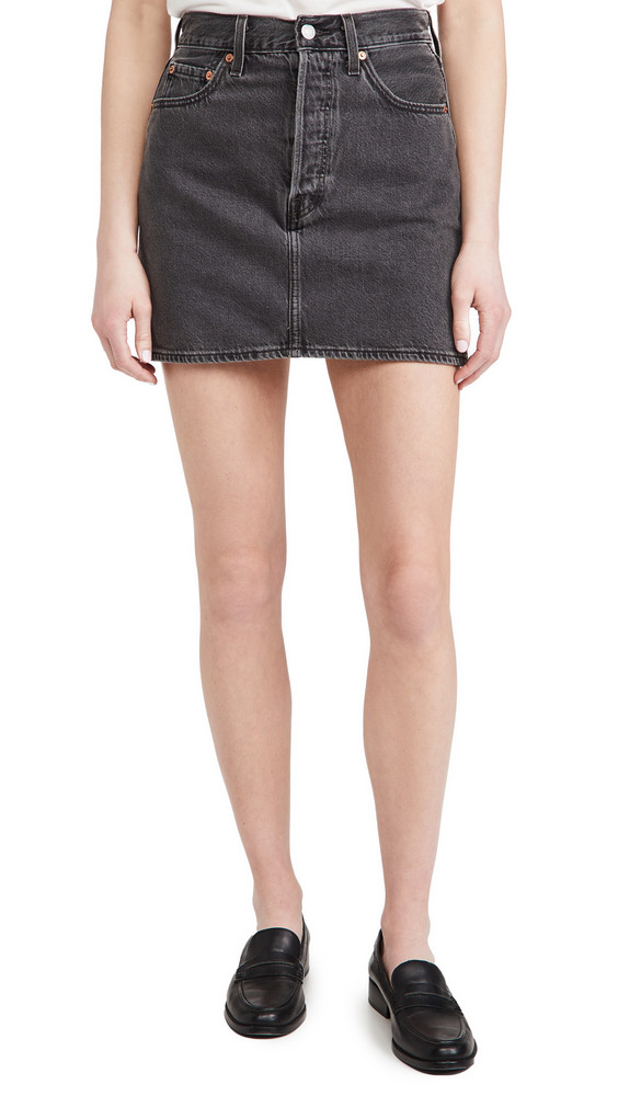 Levi's Ribcage Skirt in black