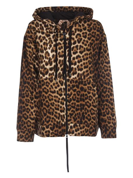 N.21 Leopard Print Hoodie