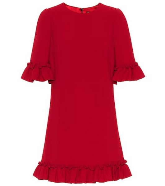 Dolce & Gabbana Exclusive to Mytheresa – crêpe minidress in red