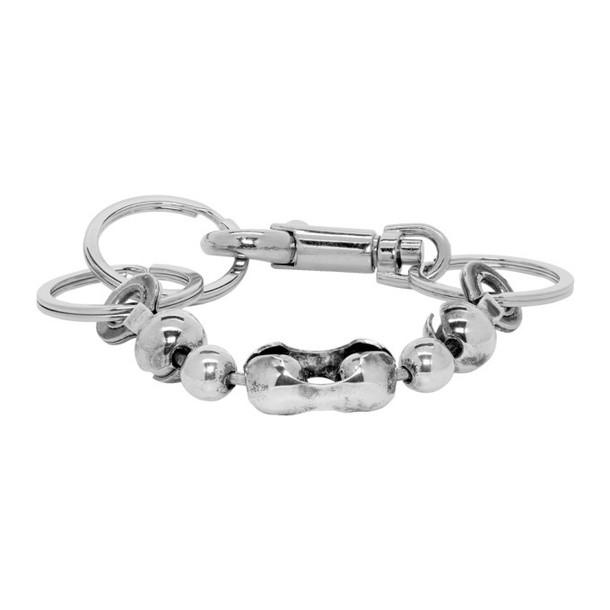 Martine Ali Silver Core Broken Ball Chain Bracelet