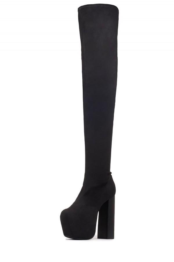 shoes black heels boots