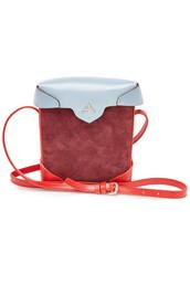 mini,bag,shoulder bag,leather,suede
