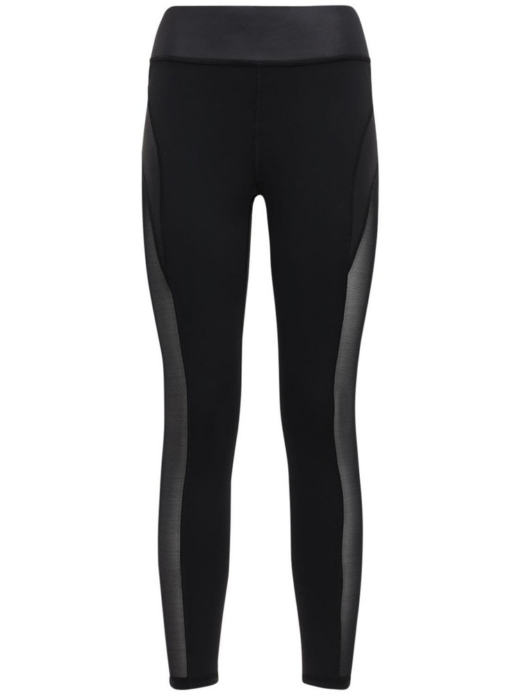 MICHI Raven Leggings W/mesh Inserts in black