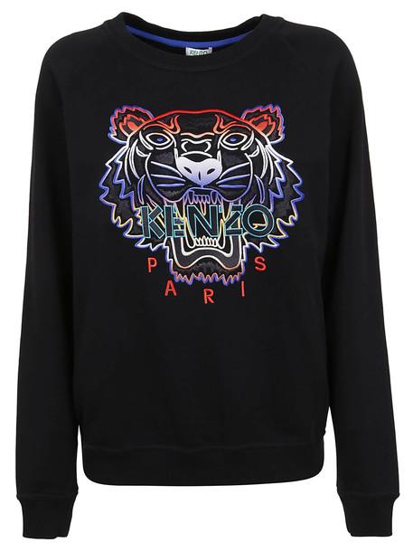 Kenzo Gradient Tiger Sweatshirt in black