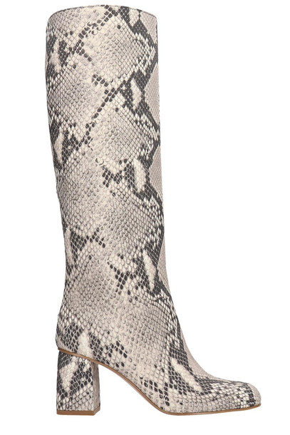 RED Valentino Boots In Grey Leather