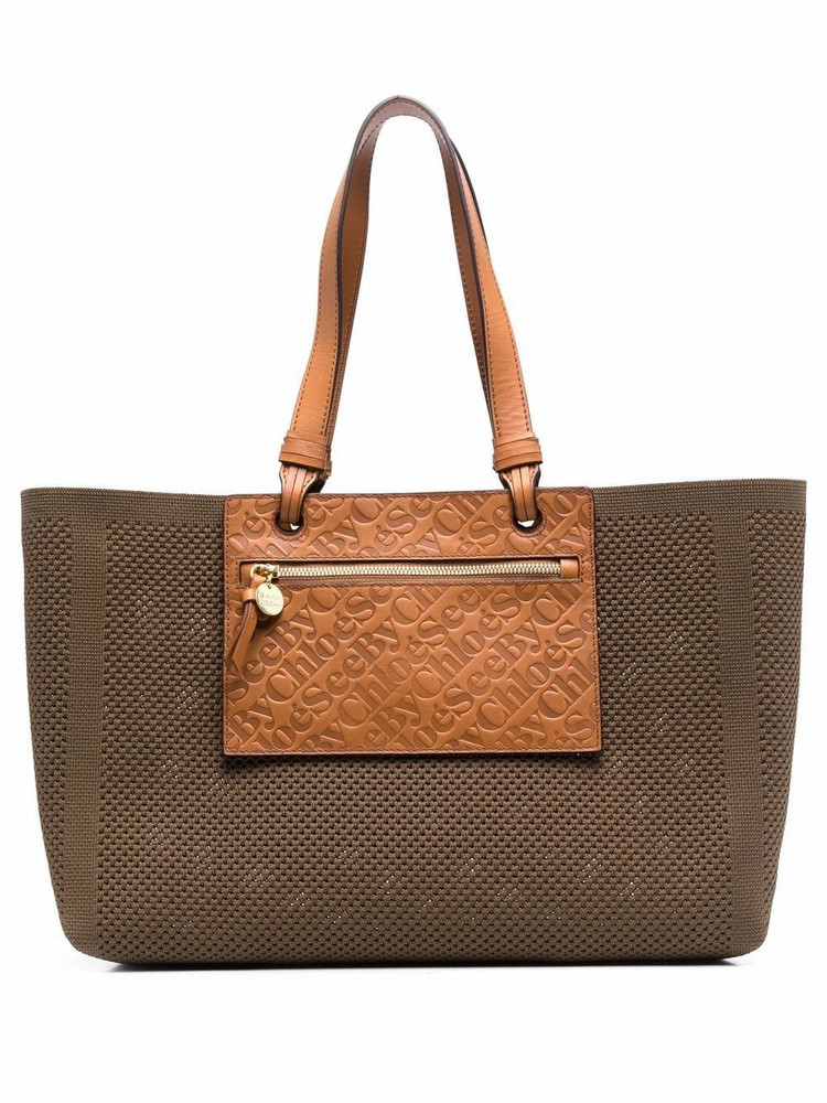 See by Chloé See by Chloé Cecilya sustainable tote - Green