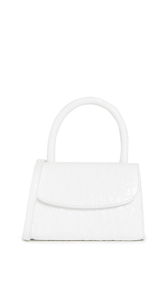 BY FAR Mini Bag in white