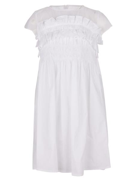 Simonetta Dress in white