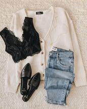 shoes,underwear,jewels,jeans,sweater