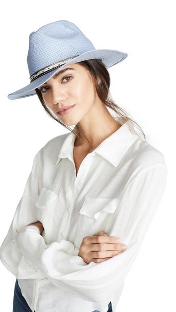 Eugenia Kim Genie Billie Hat in blue