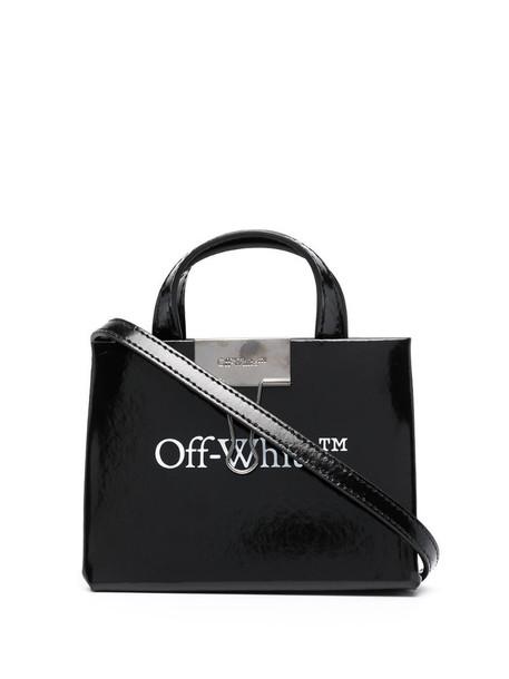 Off-White LOGO BABY BOX BAG BLACK WHITE