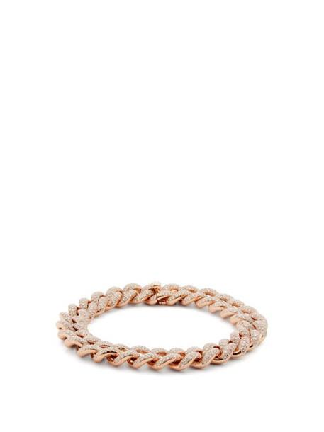 Shay - Essential Diamond & 18kt Rose Gold Bracelet - Womens - Crystal