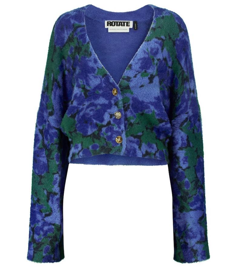 ROTATE BIRGER CHRISTENSEN Kristinia floral cardigan