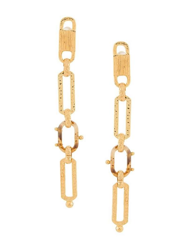Gas Bijoux Escale earrings in gold