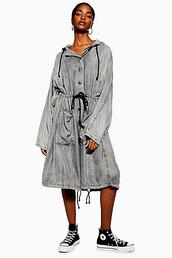 parka,oversized,black,coat