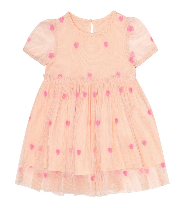 Stella McCartney Kids Baby dress and bloomers set in pink
