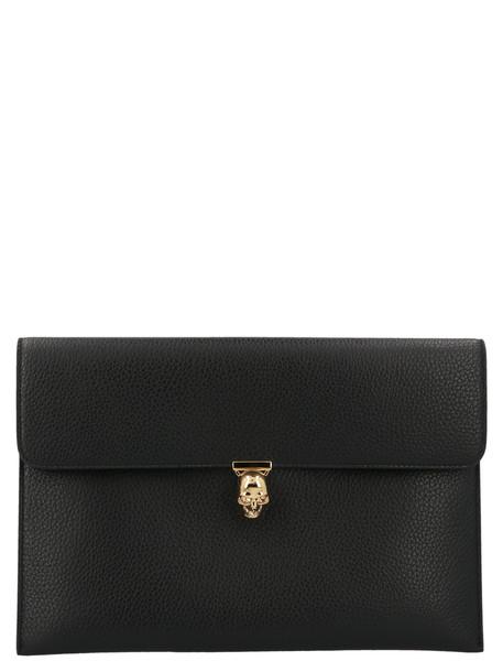 Alexander Mcqueen 'envelope' Bag in black
