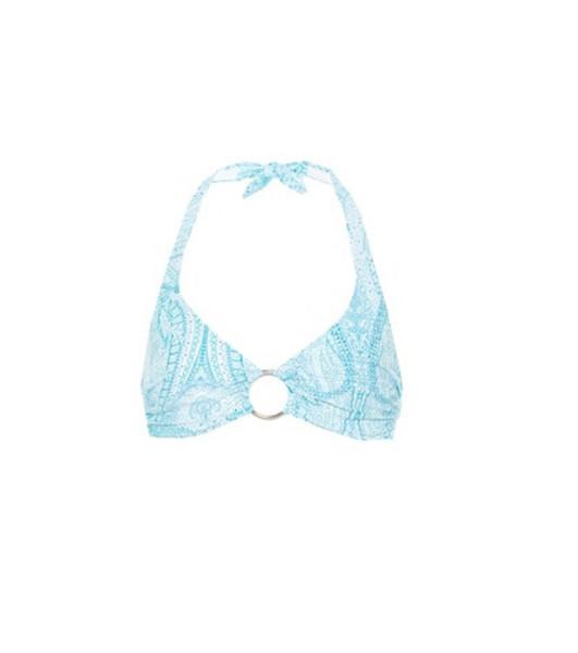 Melissa Odabash Brussels bikini top in blue