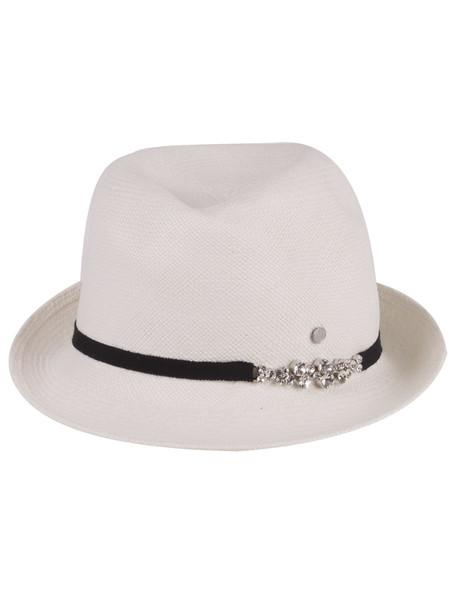 Maison Michel Hat in white