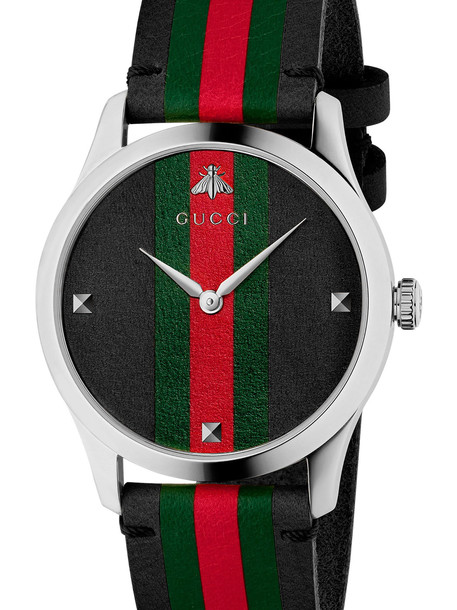 Gucci 'g-timeless Contemporary' Watch in black