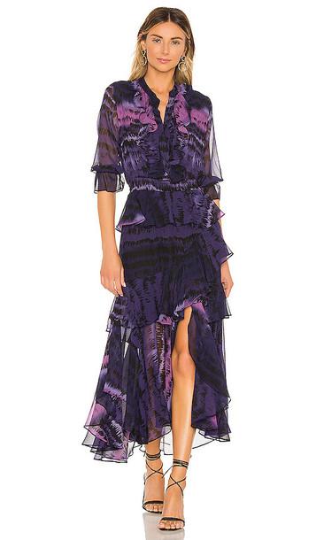 MISA Los Angeles Alanis Dress in Purple