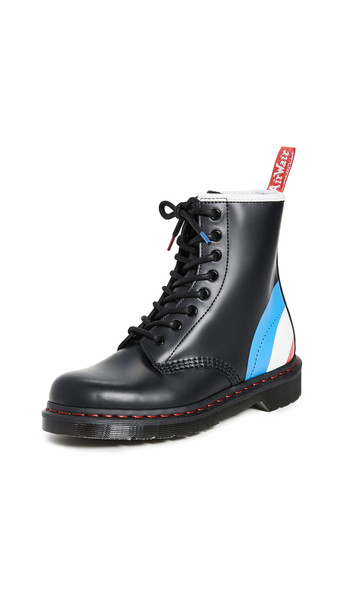 Dr. Martens x The Who 1460 Smooth Boots in black