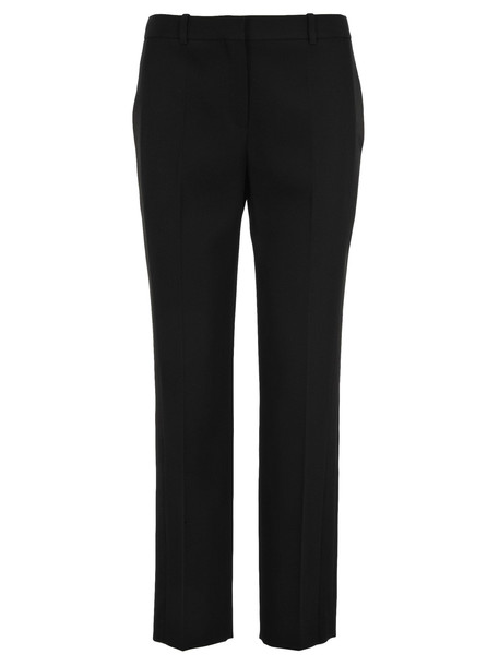 Givenchy Satin Panelled Tuxedo Trousers in black