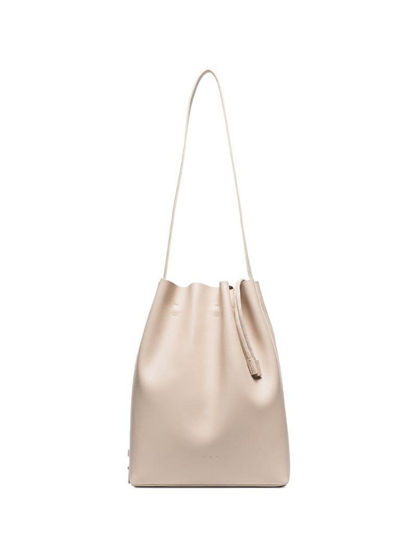Aesther Ekme drawstring bucket bag in neutrals