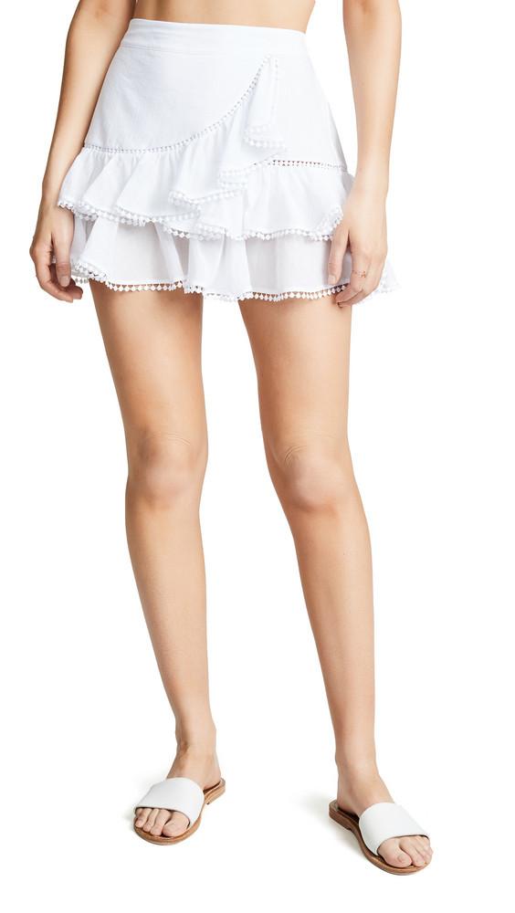 Charo Ruiz Fera Skirt in white
