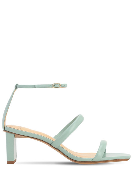 ALEXANDRE BIRMAN 50mm Leather Sandals in green