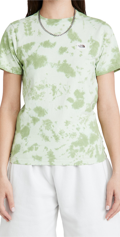 The North Face Botanical Tie Dye Tee in green