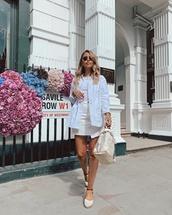 shoes,wedges,skirt,mini skirt,jacket,top,white jacket