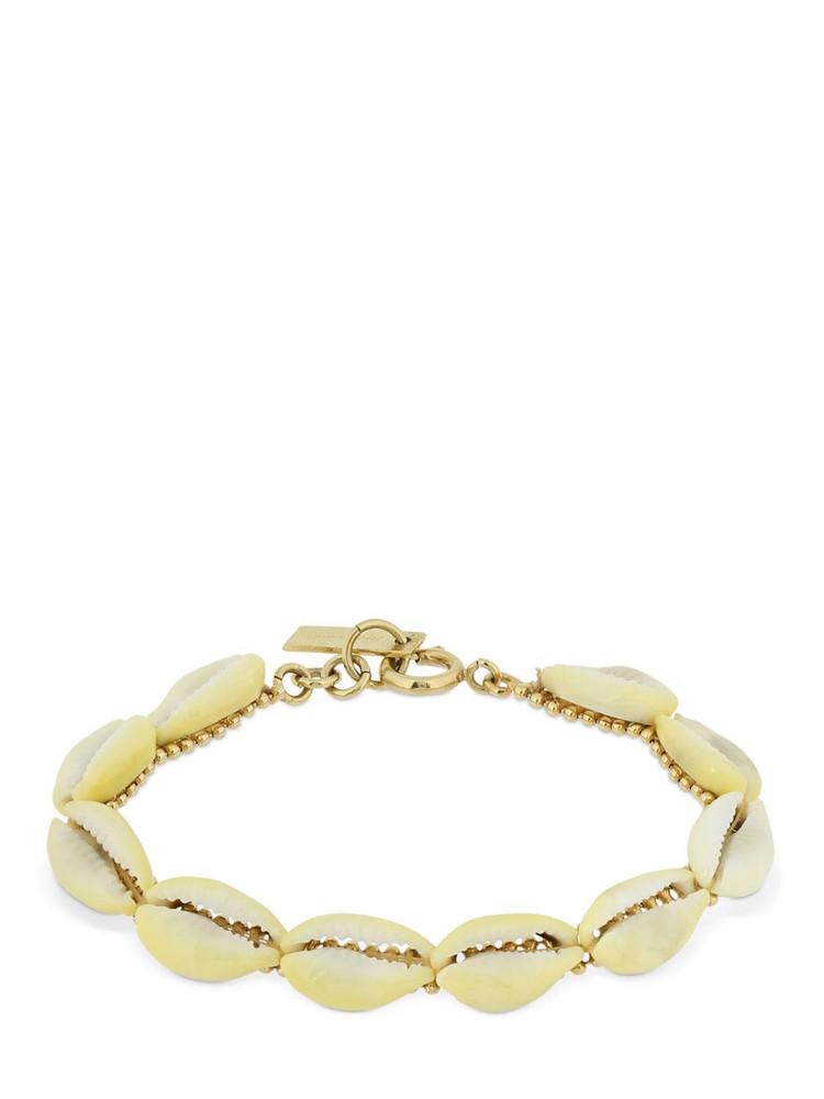 ISABEL MARANT Oscar Bracelet W/ Seashells in natural / gold
