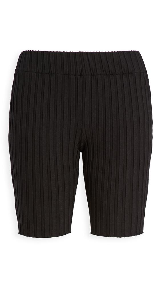 Simon Miller Burr Bike Shorts in black