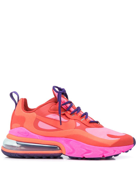 Nike Max 270 React sneakers in pink / red