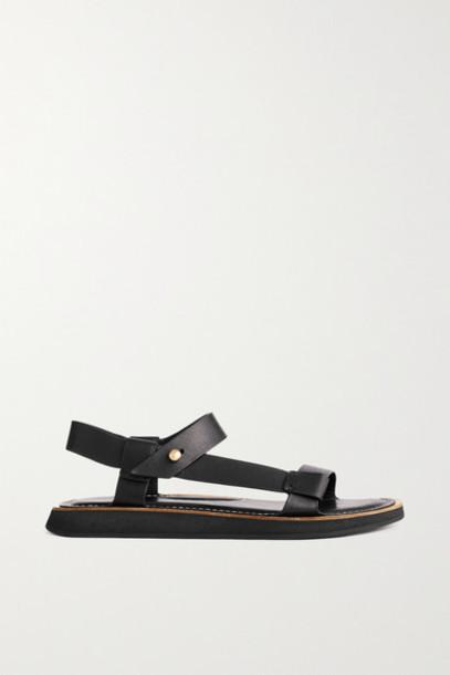rag & bone - Parker Leather Sandals - Black