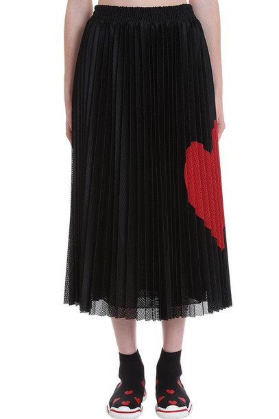 RED Valentino Skirt In Black Cotton