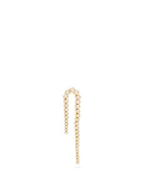 Sophie Bille Brahe - Sandro Nuit Diamond & 18kt Gold Single Earring - Womens - Diamond
