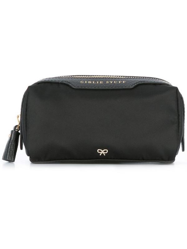 Anya Hindmarch Girlie Stuff make-up bag in black