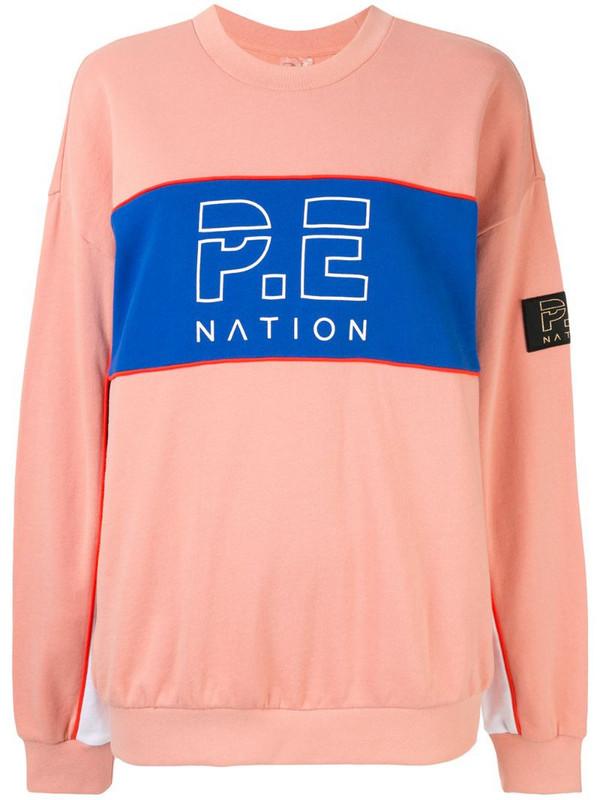 P.E Nation Sonic Sweatshirt in pink
