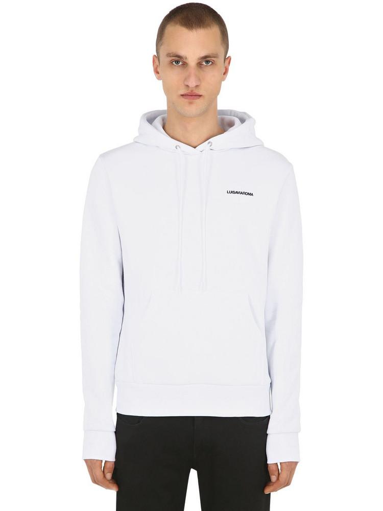Luisaviaroma Sweatshirt Hoodie in white