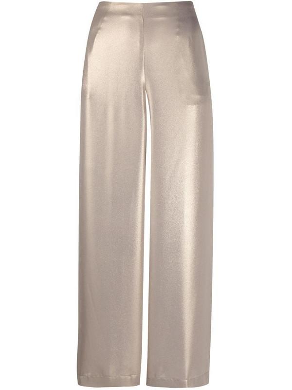 Altea metallic cropped trousers