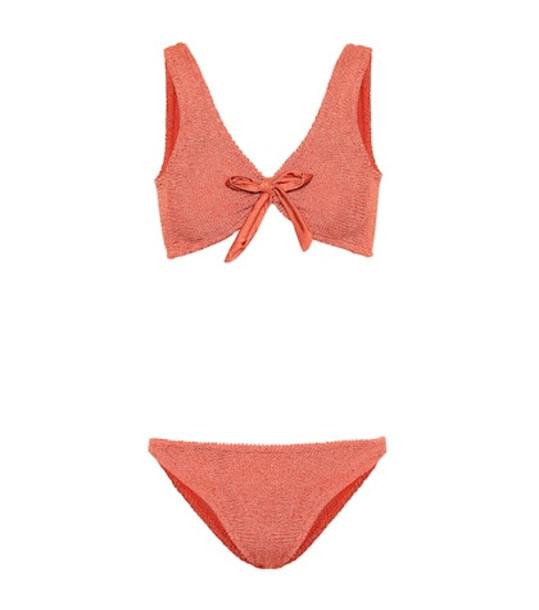 Hunza G Angela bikini in orange