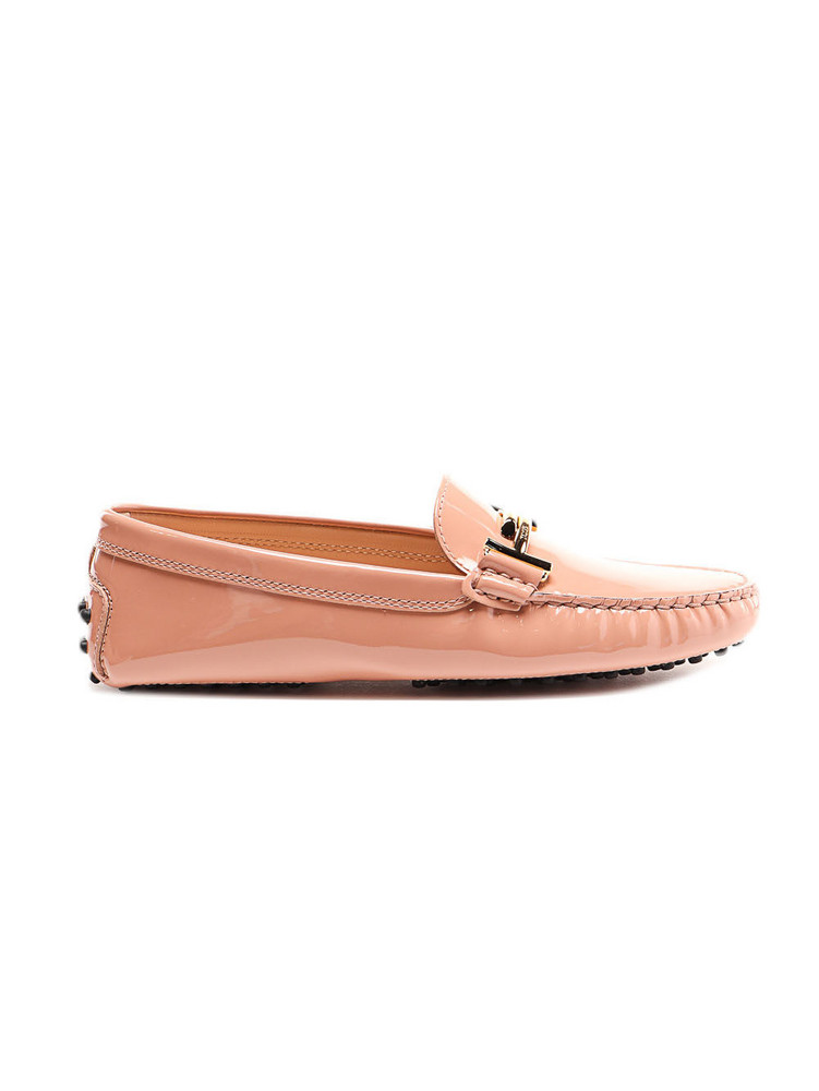 Tods Double T Loafer in beige